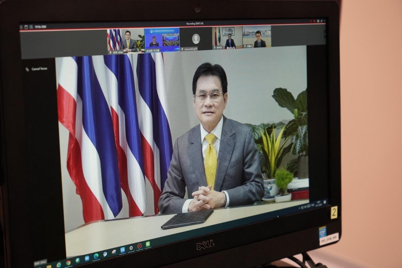 โควิดไม่อาจยั้ง ! จุรินทร์ นำเซลล์แมนประเทศ หนุนผู้ประกอบการไทยร่วมงานจีน CIIE 2020
