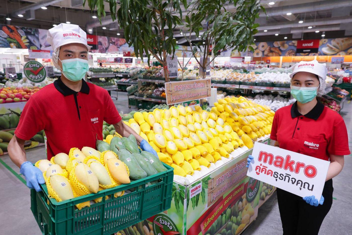 แม็คโคร เคียงข้างเกษตรกรไทย ช่วยชาวสวนระบายมะม่วงกว่า 3,000 ตัน