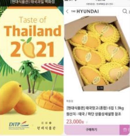 กรมส่งเสริมการค้าระหว่างประเทศ (DITP) โชว์ผลงานโปรโมตผลไม้ไทยร่วมกับห้าง Hyundai ทำยอดขายปังกว่า 21 ล้านบาท