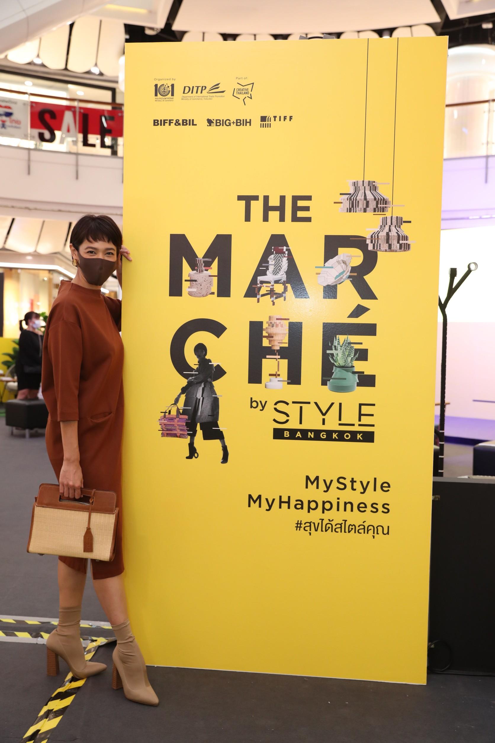 """นางเอกสายอีโค """"นุ่น ศิรพันธ์""""                                                                                 ชวนมาเลือกซื้อสินค้าไลฟ์สไตล์ดีไซน์เพื่อโลก                                                                                          ที่ The Marche' by STYLE Bangkok"""